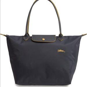 Longchamp Le Pliage Tote Graphite Grey